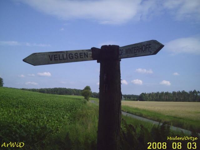 Wegweiser Hof Winterhoff I