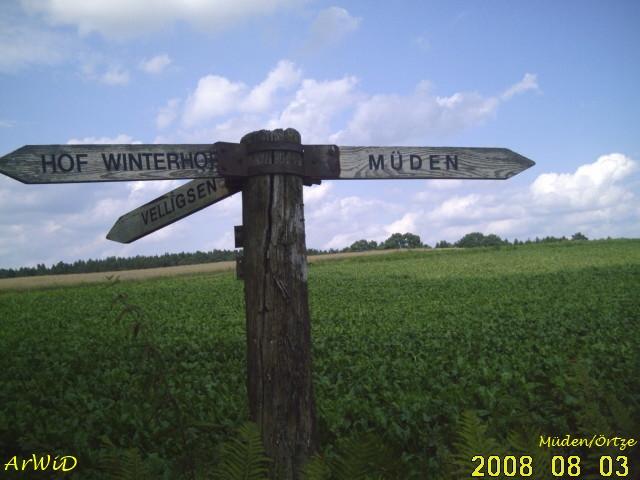 Wegweiser Hof Winterhoff II