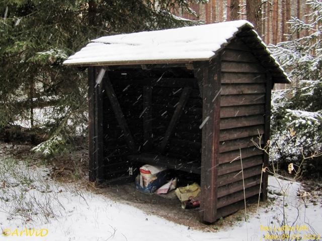 Ehemailge Schützhütte Grüner Weg 2012 (3)