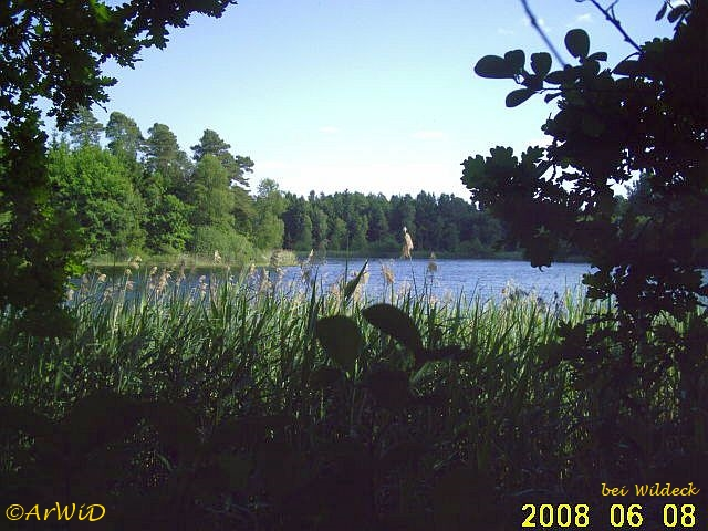 Rastplatz an den Wildecker Fischteichen II