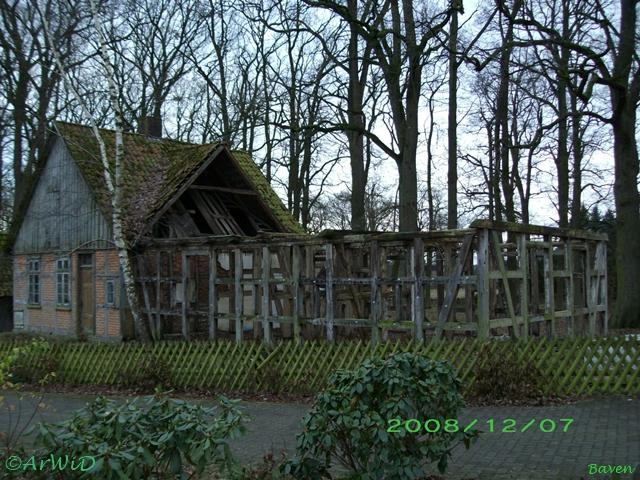 Rückbau Ruine Ortsausgang Baven (1)
