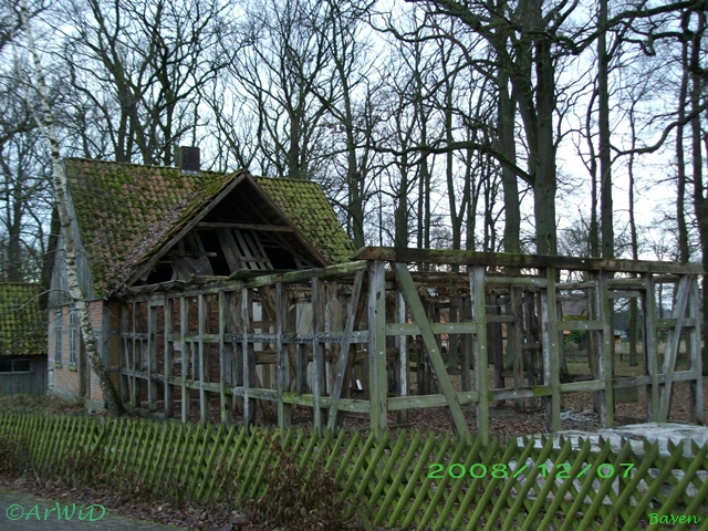 Rückbau Ruine Ortsausgang Baven (2)