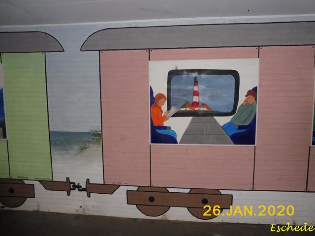 Kunstwerke im Tunnel Eschede 2020 (10)