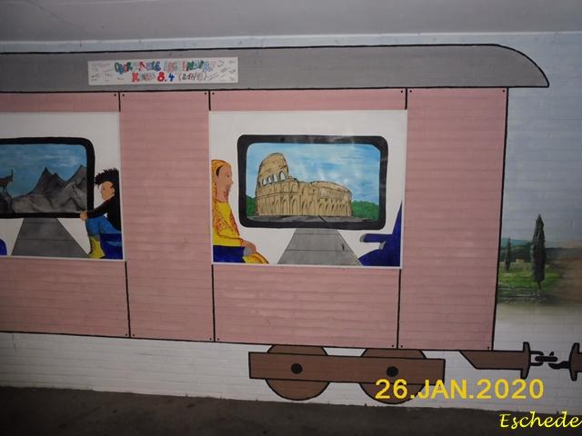 Kunstwerke im Tunnel Eschede 2020 (11)
