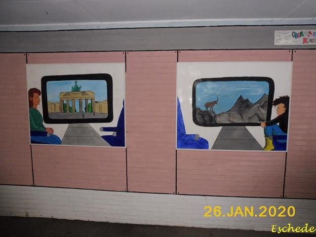 Kunstwerke im Tunnel Eschede 2020 (12)