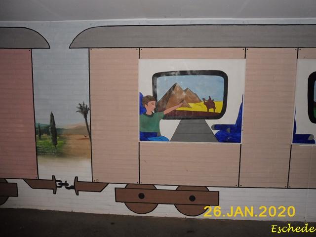 Kunstwerke im Tunnel Eschede 2020 (13)