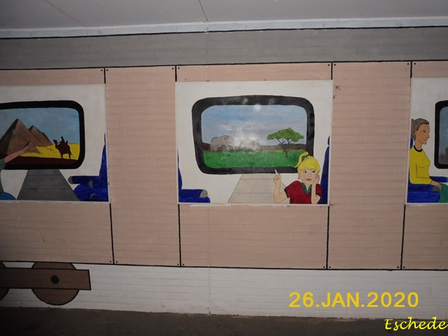 Kunstwerke im Tunnel Eschede 2020 (14)