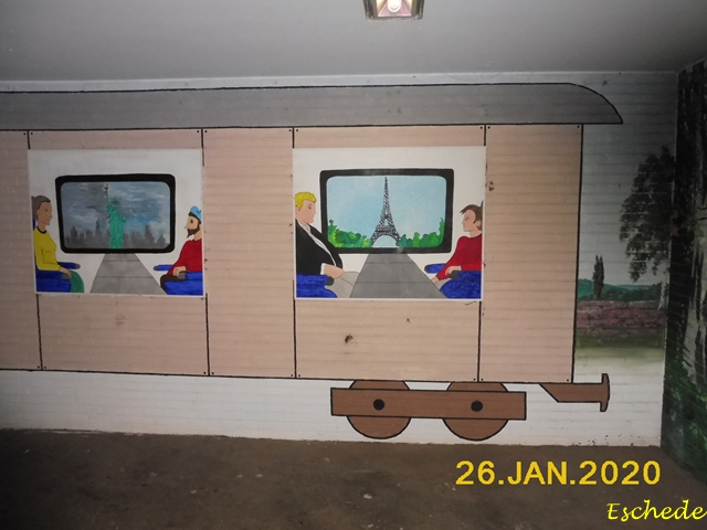 Kunstwerke im Tunnel Eschede 2020 (15)