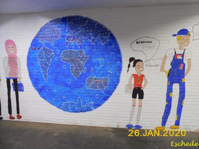 Kunstwerke im Tunnel Eschede 2020 (3)