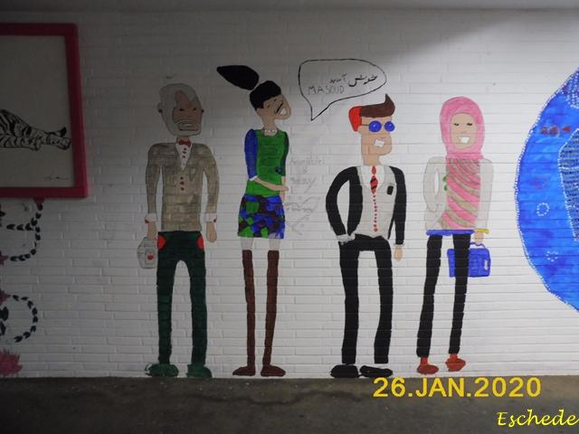 Kunstwerke im Tunnel Eschede 2020 (4)