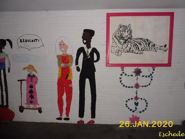 Kunstwerke im Tunnel Eschede 2020 (5)