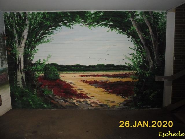 Kunstwerke im Tunnel Eschede 2020 (7)