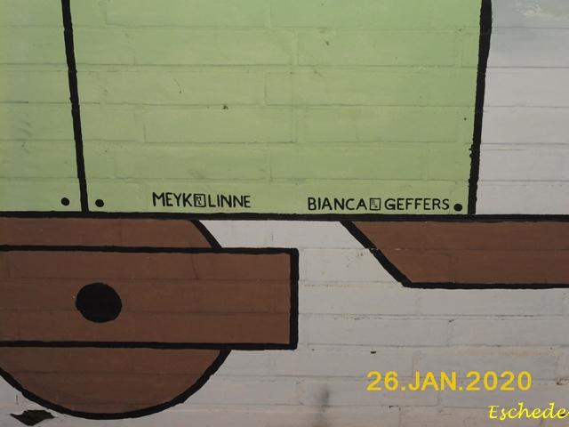 Kunstwerke im Tunnel Eschede 2020 (8)