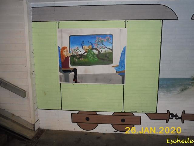 Kunstwerke im Tunnel Eschede 2020 (9)